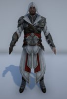 assassin ezio 3D model