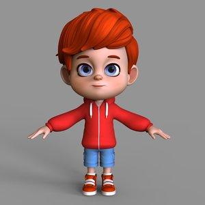 3D cute cartoon