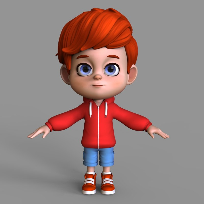 3D cute cartoon