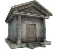 mausoleum unity 3D model