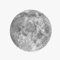 3D moon model