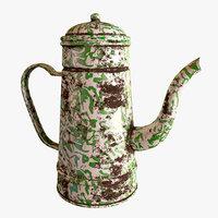 3D model blirik teapot