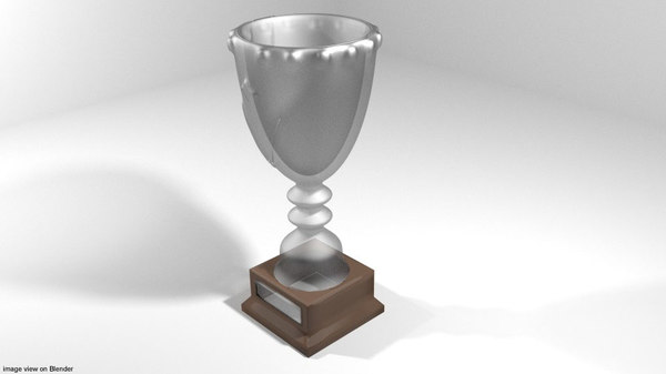 goblet trophy 3D model