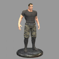 thug soldier 3D model