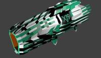 plasma blaster xj9 3D model