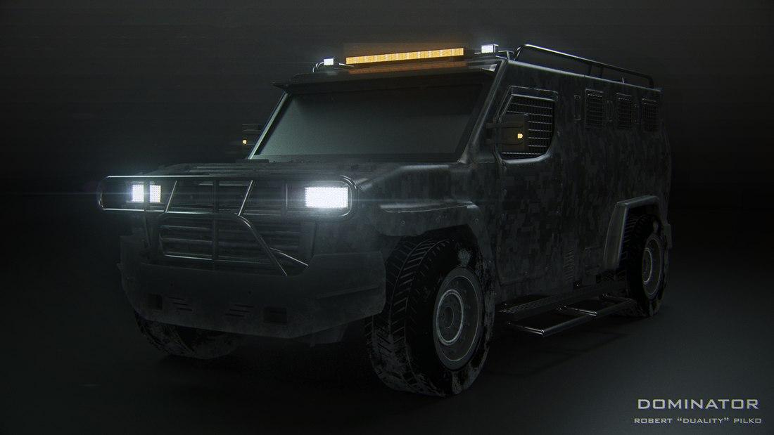 3D puma streit armored