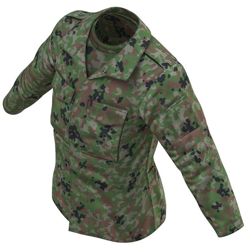 3D combat uniform