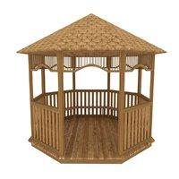 garden house garden-house model