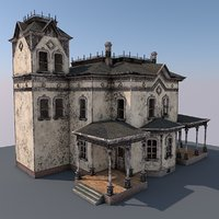 abandoned house games 3D