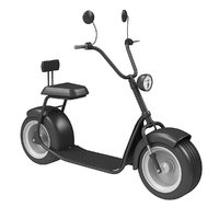 3D big electric scooter