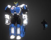 3D strongarm movies film model