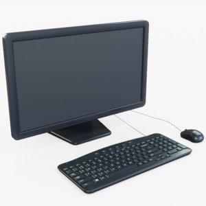 generic computer 3D model