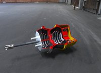 3D brake chamber