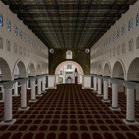 aqsa mosque 3D model