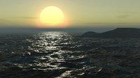 ocean animate 3D