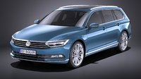 Volkswagen Passat Variant 2015 VRAY