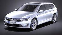 Volkswagen Passat Variant GTE 2015 VRAY