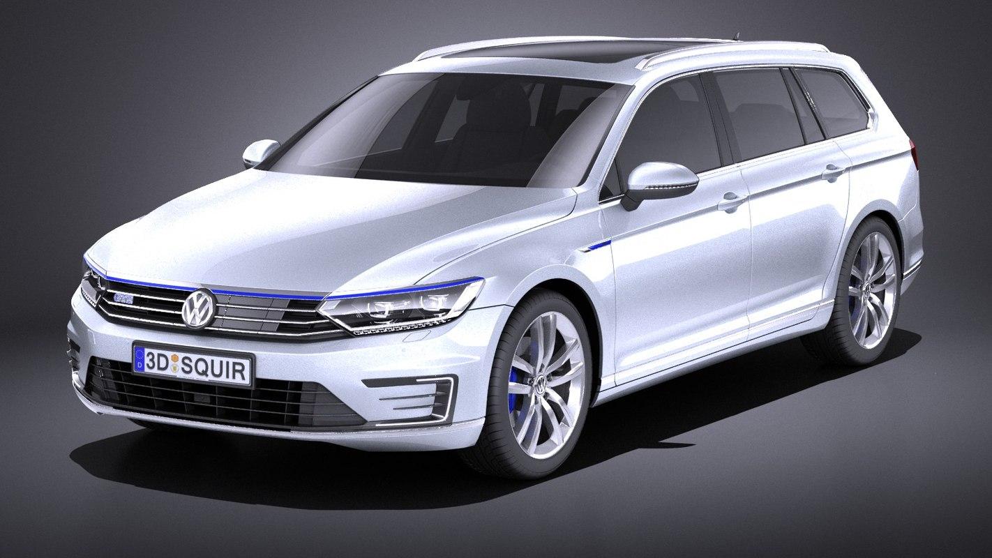 3D 2015 volkswagen variant