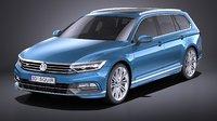 Volkswagen Passat Variant R-line 2015 VRAY