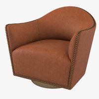 3D longhi vivienne chair
