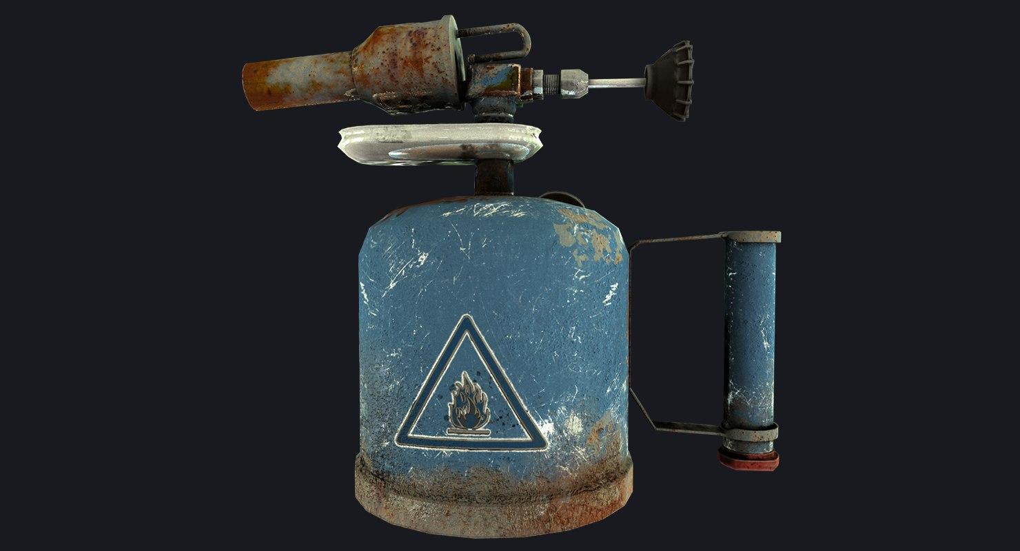 3D petrol blowtorch