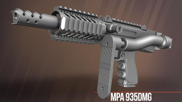 3D mpa 935dmg model