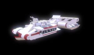 lego cr90 corvette 3D