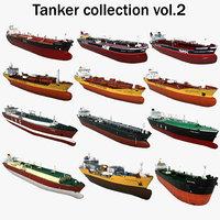 3D oil tankers 2 model