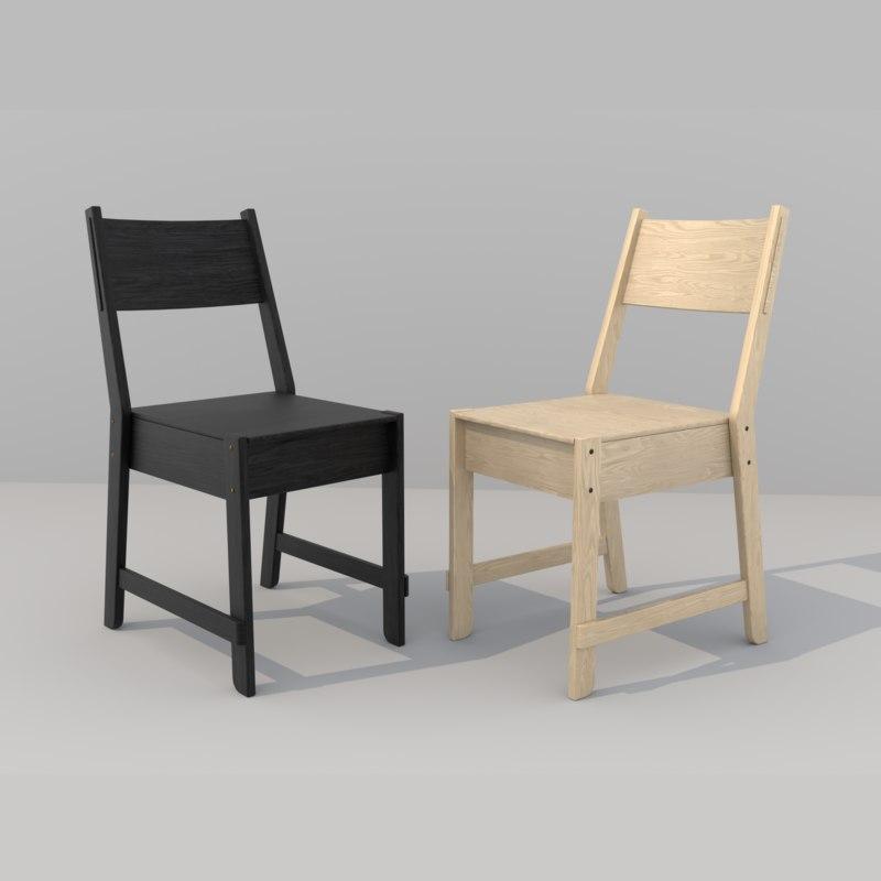 norroker chair 3D model