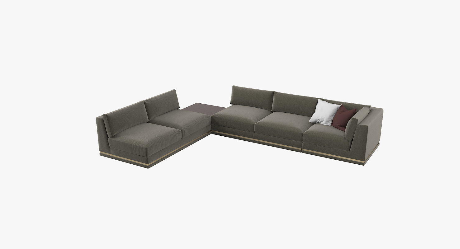 cassoni cohen gallery sectional 3D