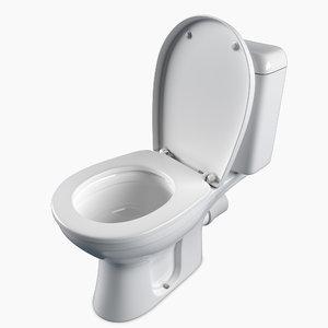floor toilet keramag renova 3D model