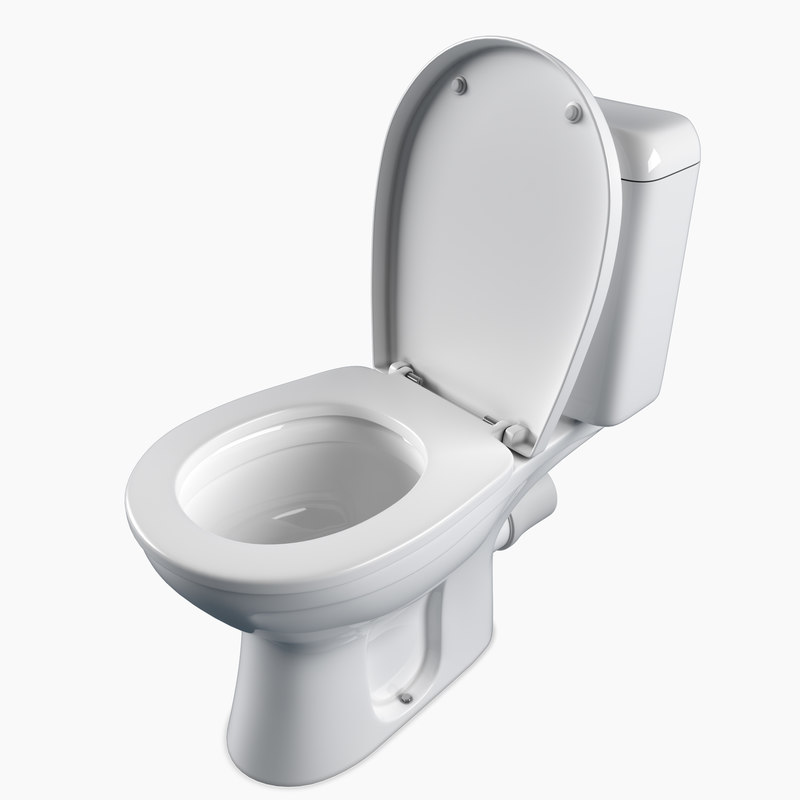 floor toilet keramag renova 3D model