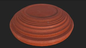 3D clay pigeon