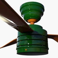 m1nn0taur ceiling fan 3D model