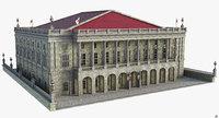 building classic 3D model