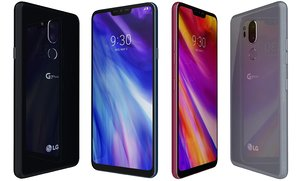 lg g7 thinq colors 3D