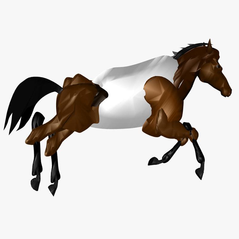 3D valentina s horse