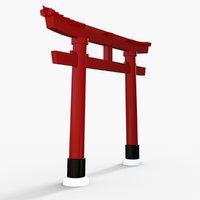 m1nn0taur gate gateway 3D model