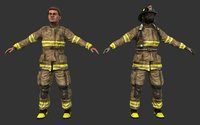 Firefighter ( Game Ready )