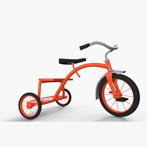 mischief tricycle 3D model