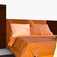 3D model mischief bed