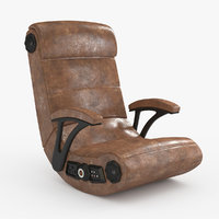 3D gaming chair rocker