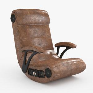 3D gaming chair rocker