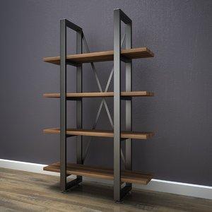 shelfs stored product 3D