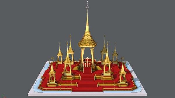 3D ancient architectural model