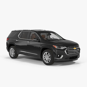 chevrolet traverse suv 2018 3D model