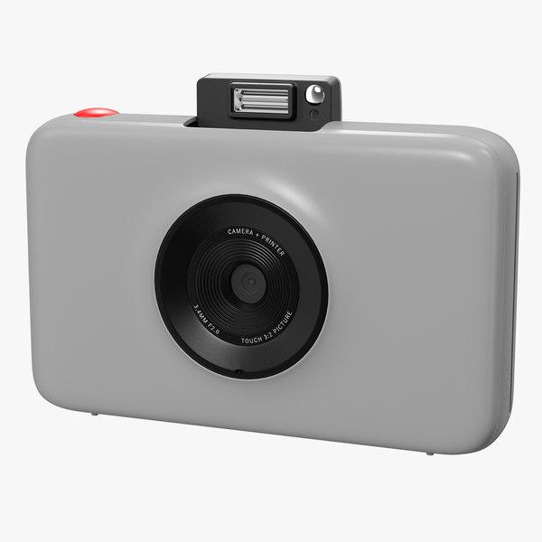digital instant camera generic 3D model