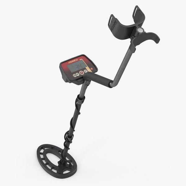 3D fisher f22 metal detector