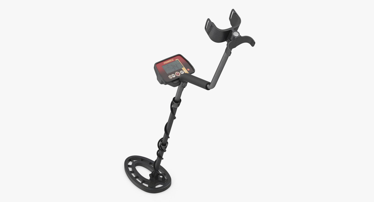 3D fisher f22 metal detector