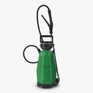3D garden sprayer generic model